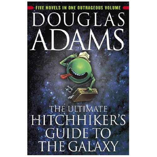 the ultimate hitchhikers guide to the galaxy essay Expository writing: hitchhiker's guide to the galaxy what are the most interesting books to read my teachers say, dystopian fiction, but i never knew what.