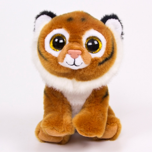 "8"" Stuffed Tiger"
