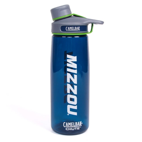 Mizzou Tigers CamelBak Chute Navy Blue Bottle