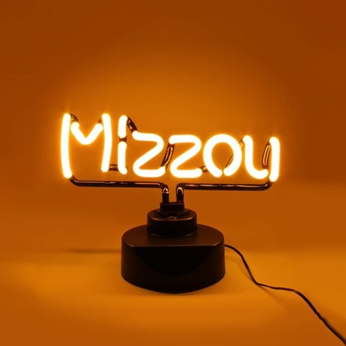 Mizzou Gold Neon Light