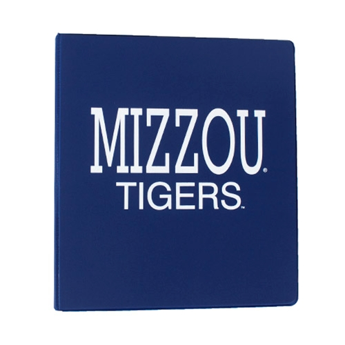 "Mizzou Tigers Navy Blue 1"" 3-Ring Binder"
