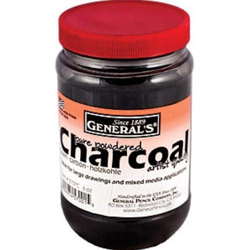 6 oz Powdered Charcoal Jar