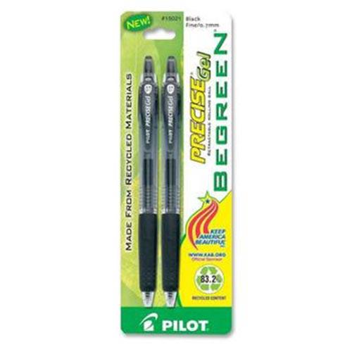 2 pack Retractable Fine Point Ballpoint Gel Pens