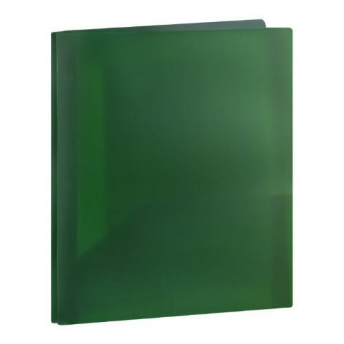 Assorted Colors Top Flight Poly Folder with Prongs