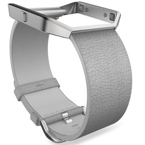 Fitbit Blaze Mist Grey Leather Small Accessory Band