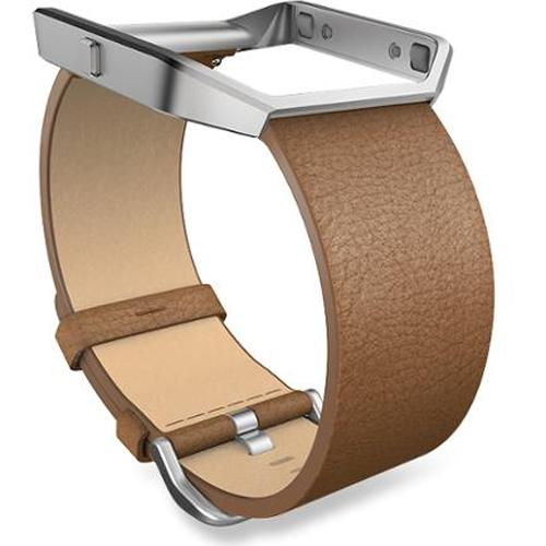 Fitbit Blaze Camel Leather Small Accessory Band