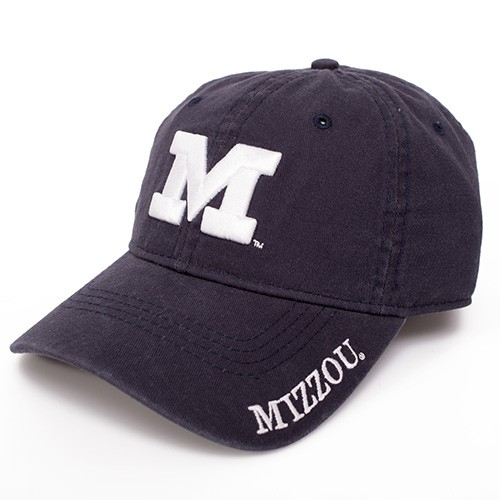 Mizzou Juniors' Navy Blue Adjustable Hat