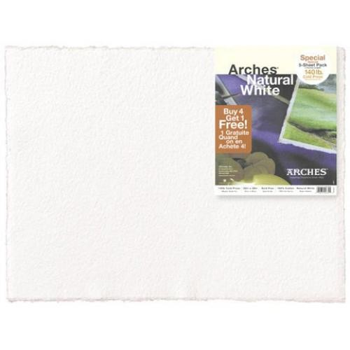 "Arches Cold Press Watercolor Paper 22"" x 30"" 10 Count"