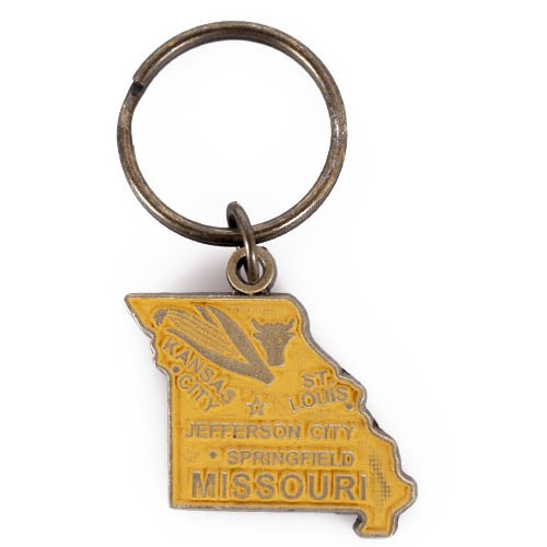 Missouri Gold Keychain