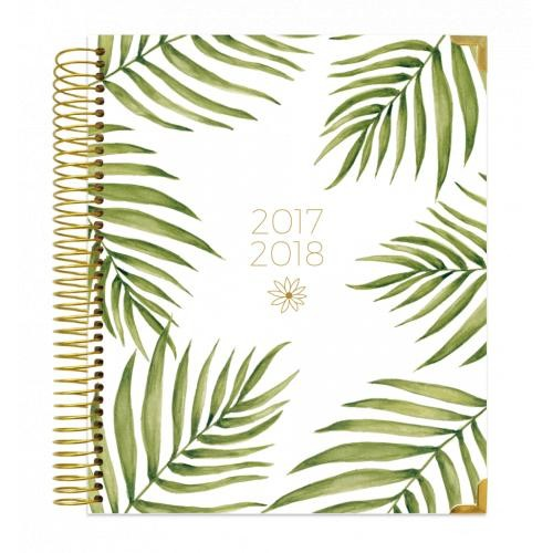 Bloom 2017-2018 Palm Leaves Vision Planner