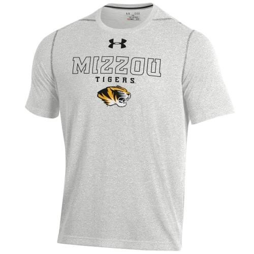 Mizzou Tigers Under Armour Grey Athletic T-Shirt