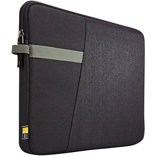 "Case Logic Ibira 13.3"" Black Laptop Sleeve"