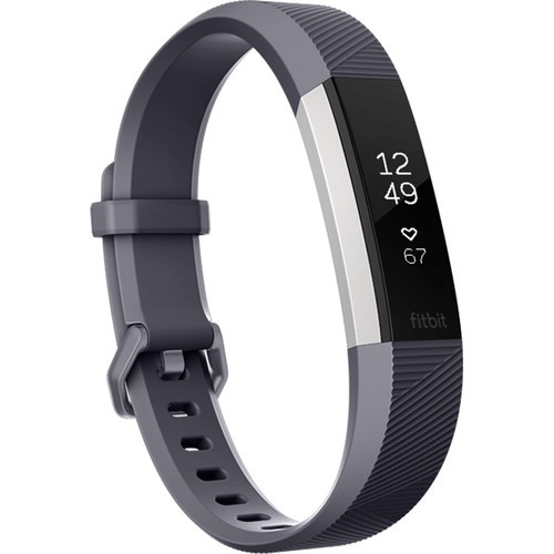 Fitbit Alta HR Activity Tracker - Small, Blue Grey