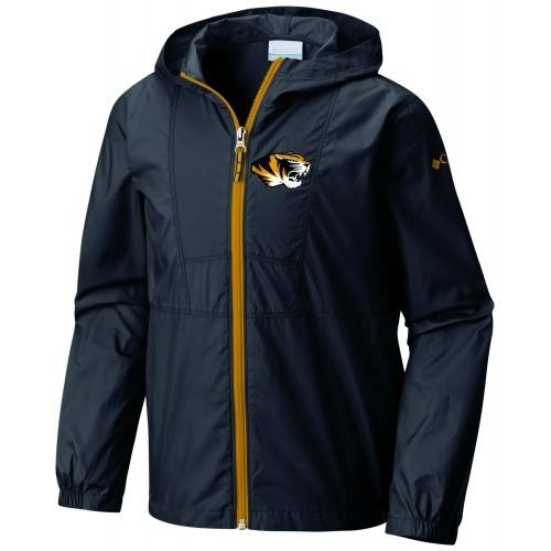 Mizzou Columbia Kids' Full Zip Black Hooded Jacket