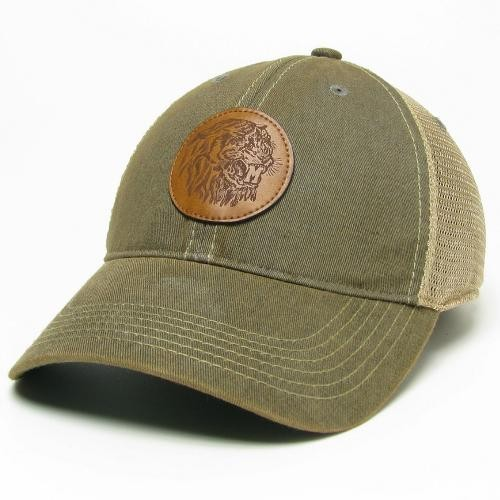 Mizzou Classic Collection Faded Grey Trucker Hat