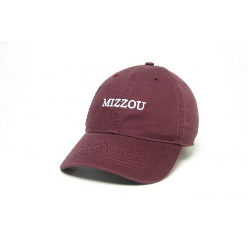 Mizzou Juniors' Maroon Adjustable Hat