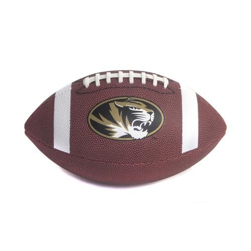 Mizzou Oval Tiger Head Official Size Football
