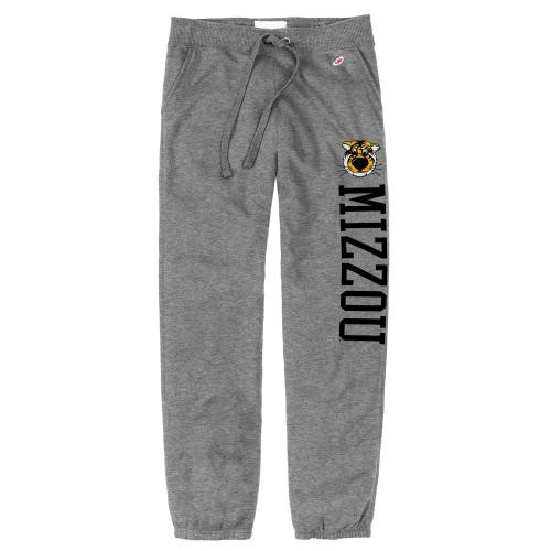 Mizzou Juniors' Truman Grey Closed Bottom Sweatpants