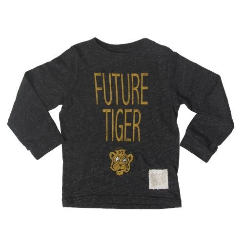 Mizzou Toddler Future Tiger Black Crew Neck Shirt