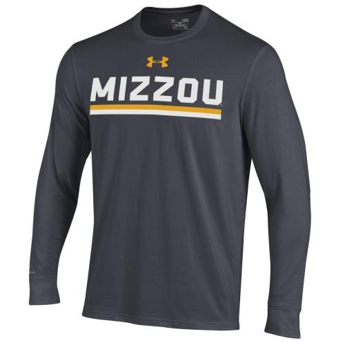 Mizzou Under Armour Charcoal Athletic Shirt
