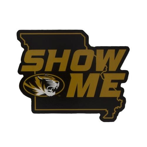 Mizzou Show Me State Black & Gold Decal