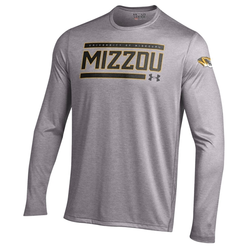 Mizzou Under Armour Grey Athletic Shirt