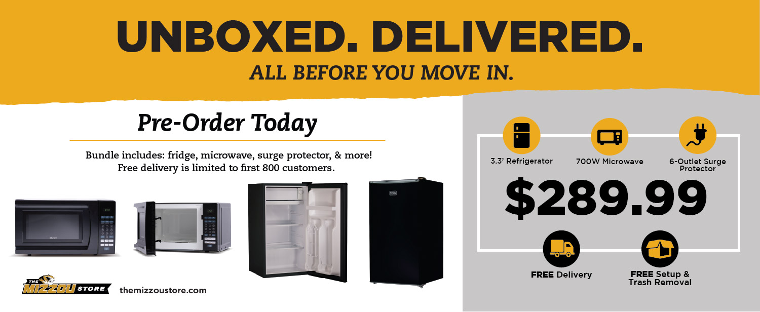 Residence Hall Appliance Bundle - Free Delivery
