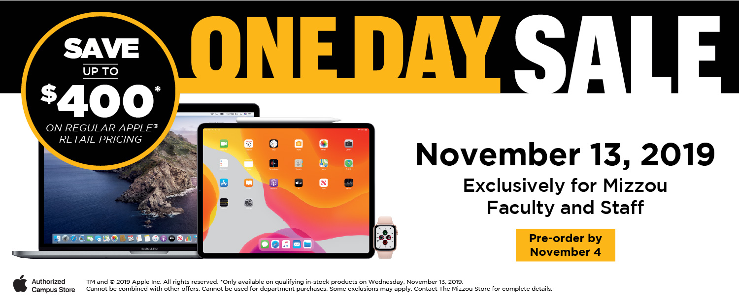 Apple One Day Sale November 13