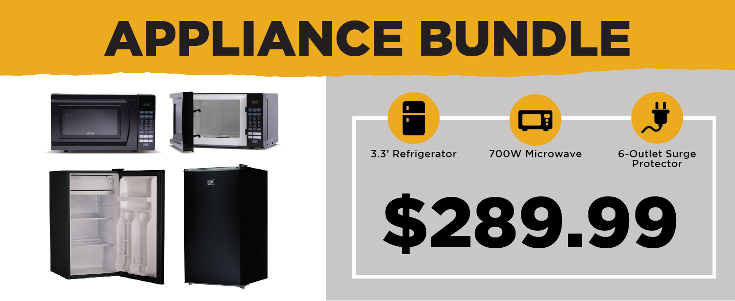 The Appliance Bundle is $289.99