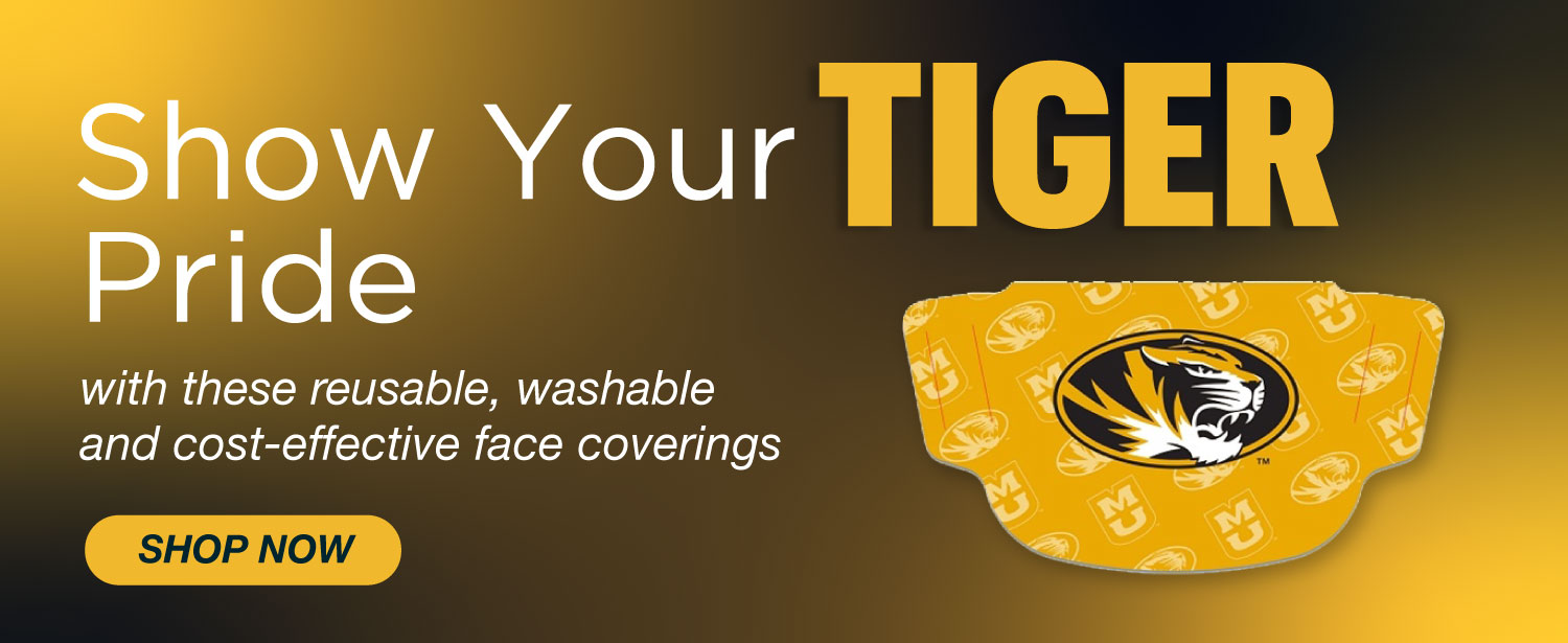 Shop Mizzou face coverings