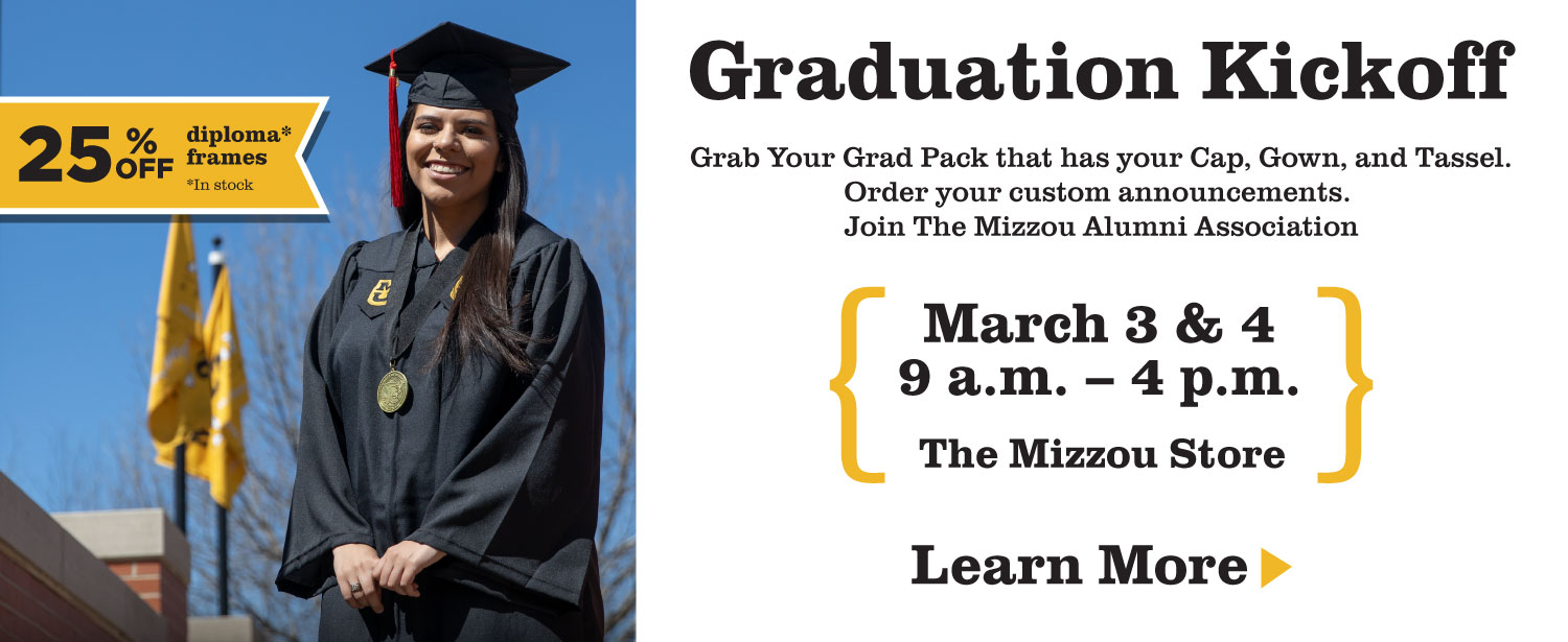 Graduation Kickoff, March 3 and 4, 9 a.m. to 4 p.m.