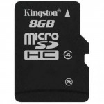 Kingston Technology 8GB microSDHC Class 4 Memory Card