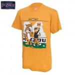 Mizzou Truman & Beetle Bailey Gold Crew Neck T-Shirt