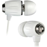 Bell'O White Chrome BDH653 In-Ear Headphones