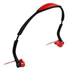 Yurbuds Black & Red Driven Headphones