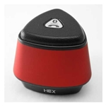 HEX Red Bluetooth Speaker with One Button Mic
