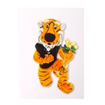 Mizzou Truman with Roses Blank Card