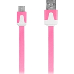 iEssentials 3.3' Pink Micro USB Cable