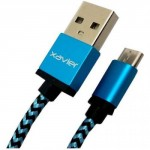 Professional Cable Blue Micro USB 6 with Braided Wire