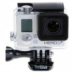 GoPro HERO3+ Silver Edition Camera, 10MP, HD 1080p Video