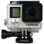 GoPro HERO4 Silver CHDHY-401 Silver 12MP Action Camera