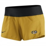 Mizzou Nike&reg Juniors' Oval Tiger Head Gold & Black Athletic Shorts