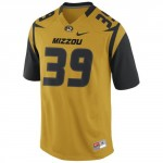 Mizzou Nike reg Gold Replica Football Jersey b97193849