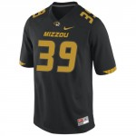 Mizzou Nike&reg Black Replica Football Jersey