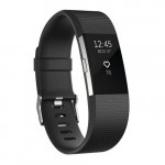 Fitbit Charge 2 Heart Rate Activity Tracker - Large Black