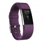 Fitbit Charge 2 Heart Rate Activity Tracker - Large Plum