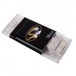 Mizzou Oval Tiger Head 16 GB Black i-FlashDrive HD
