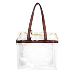 Stadium Compliant Clear Tote Bag