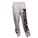 Missouri Grey Open Bottom Sweatpants