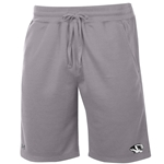 Mizzou Tiger Head  Under Armour Grey Fleece Shorts